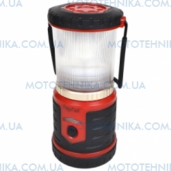 2 в 1 - Ліхтар + Power bank Rayfall L3R (Cree XB-D + Red LED, 400 Lumen, 6 режимів, USB), червоний