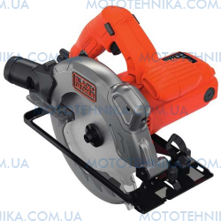 Пила дискова BLACK + DECKER CS1250L